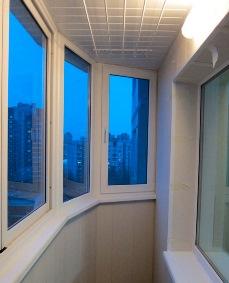 Остекление полукруглого балкона 137 серии